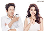 About Me selected Jung Yong Hwa and Z.HERA as new Advertisement Models